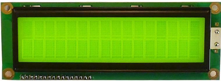 LCD 2 lignes 16 caractéres grand format