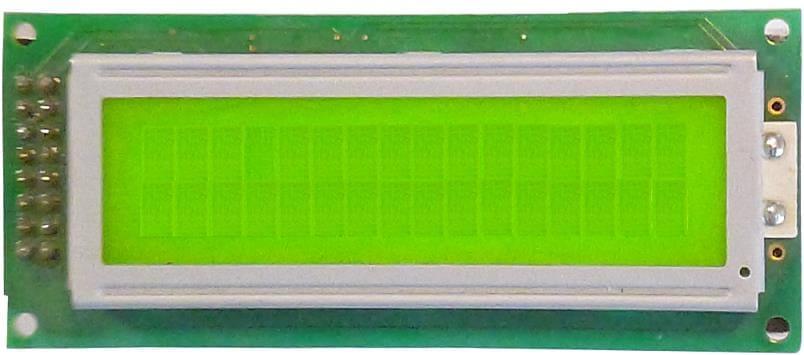 LCD 2 lignes 16 caractéres petit format
