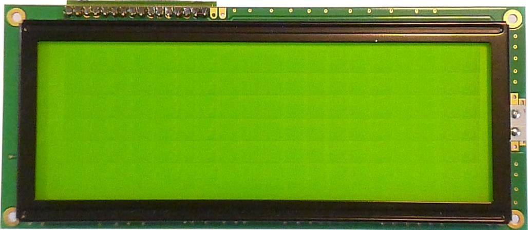 LCD 4 lignes 20 caractéres grand format